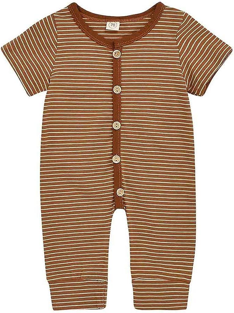 Pelele Niña Verano a Rayas Bodies Bebe Manga Corta Recien Nacido Pijama Bebe Ropa Bebe Niño Mono de Niños Mameluco Niñas: Amazon.es: Ropa y accesorios