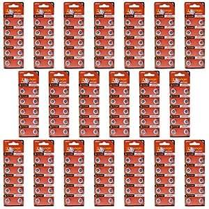 N5 alcalinas 1.55V ag5 HW01 Tianqiu pilas botón celular - plata (20 paquetes / 200 PC)