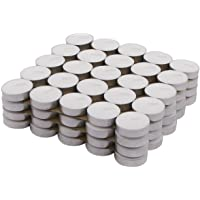 Amazon Brand - Solimo Wax Tealight Candles