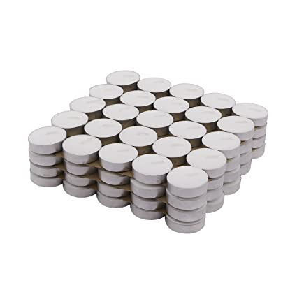 Buy Solimo Wax Tealight Candles Set Of 100 Unscented Online At