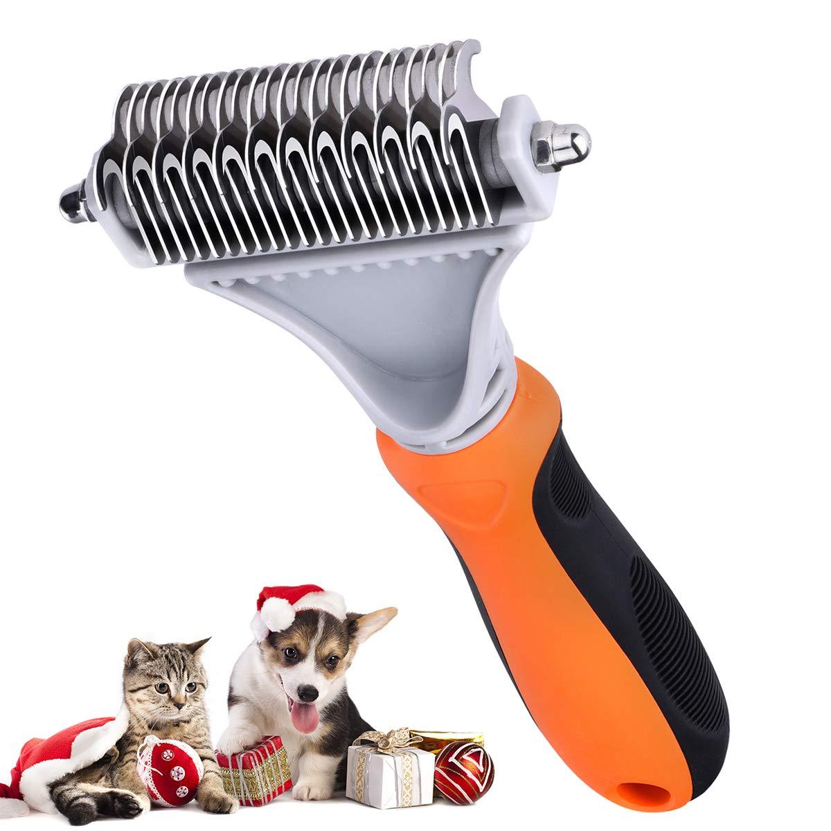 Dettagli su TOPELEK Spazzola per Animali Domestici, Pettine Gatto Pelo Lungo,Spazzola