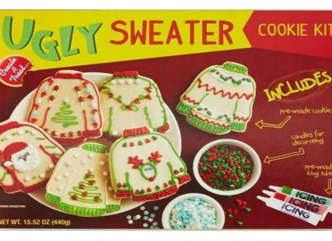 Ugly Sweater Cookie Kit 1 Kit