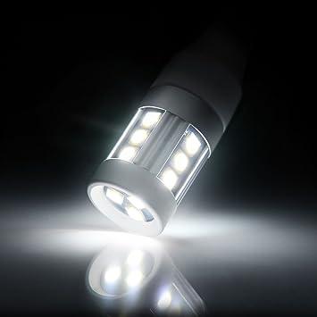 AUXITO 8X 6000K 3157 3156 LED Backup Reverse Turn Signal DRL Light Bulbs WHITE