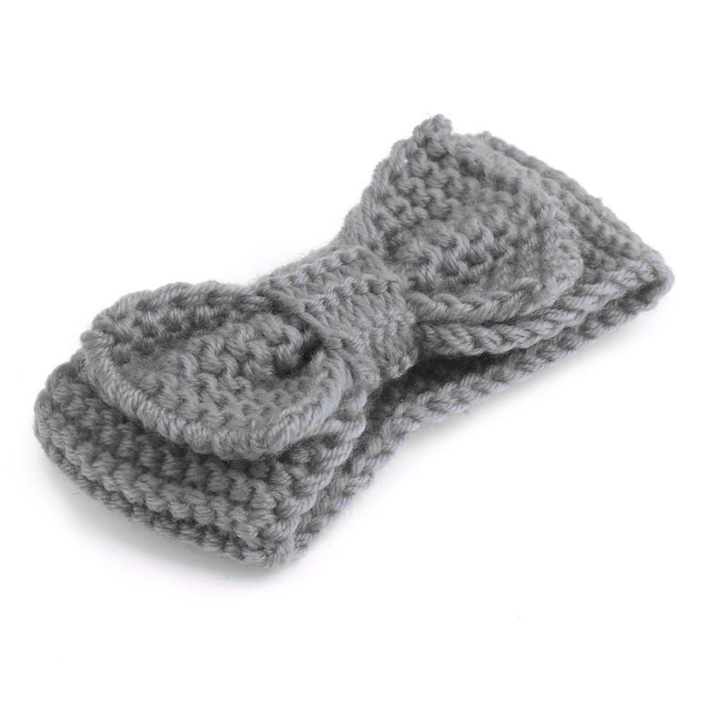 domybest bebé recién nacido niña de punto Crochet diadema invierno ...