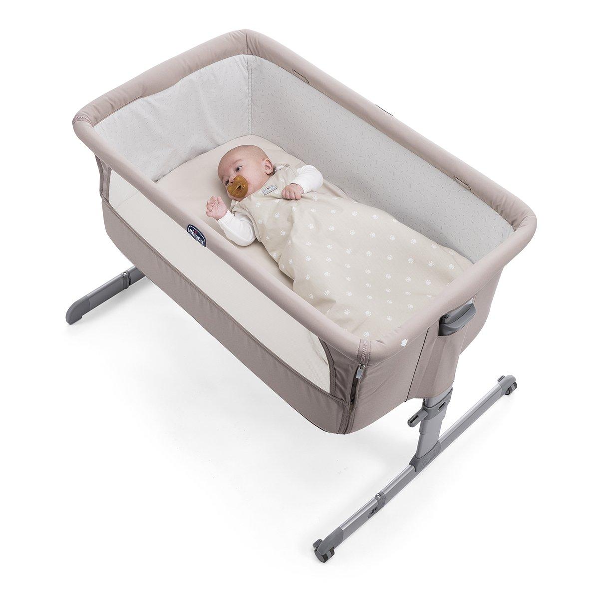 color Silver Set de saco de dormir y s/ábana Chicco Next2Me