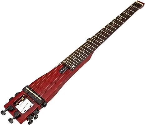 Anygig guitarra acústica portátil cereza 6 cuerdas con bolsa Design ...
