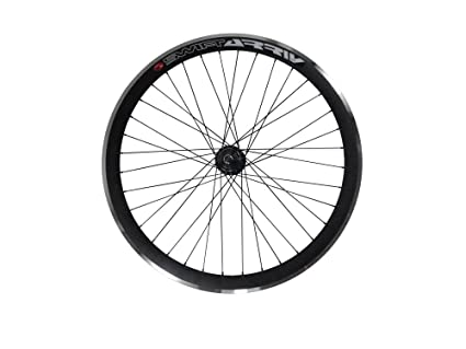 Deep V 43 mm rueda trasera para bicicleta, Fixed Gear, vía, una sola