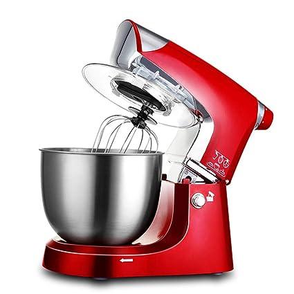 Robot De Cocina Multifunción Con Recipiente De Vidrio De 6L (Batidora, Batidora, 4