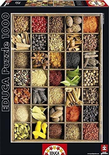 Educa by Borras Puzzle Spices (1000 Pieces) by Educa Educa Borras 8042df
