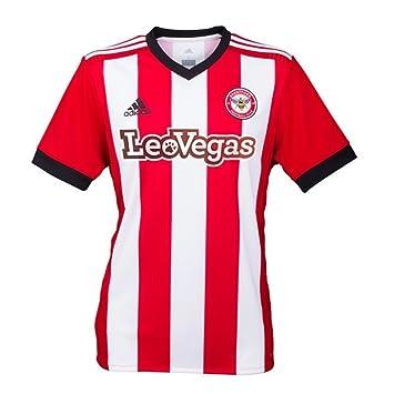 adidas 2017-2018 Brentford Home Football Shirt  Amazon.co.uk  Sports    Outdoors eca0393b7