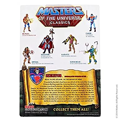 Masters of the Universe Space Mutants Intergalactic Skeletor Figure: Toys & Games