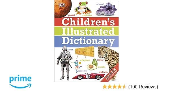 children s illustrated dictionary dk 9781465420206 amazon com books