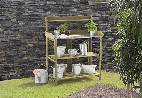 (Sunjoy Wooden Potting Bench)