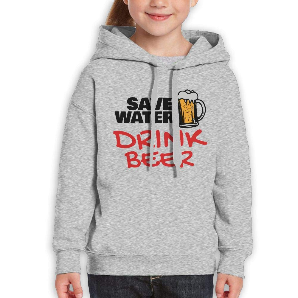 Yishuo Boys /& Girls Limited Edition Casual Style Jogging Sweater Black