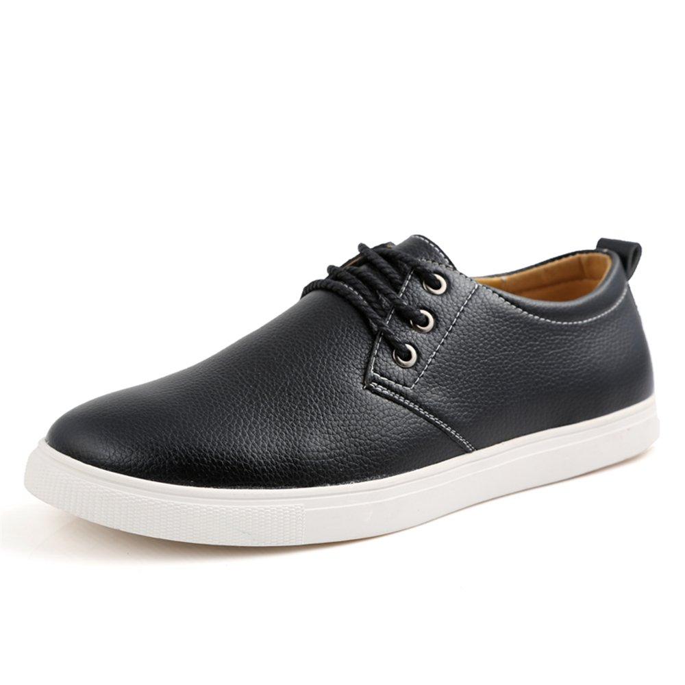 AARDIMI Herren Sneaker Groszlig;e Grouml;szlig;e 38-49 Marke Einfarbig Mauml;nner Atmungsaktive Outdoor Casual Fahrschuhe Herrenschuhe  49 EU|Schwarz