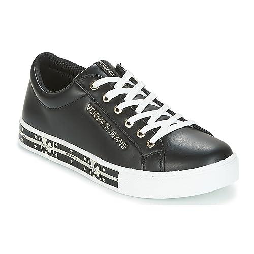 E0vrbsg5 itScarpe Borse 36Amazon Donna Sneakers Versace E Jeans Nero 8PnwX0Ok