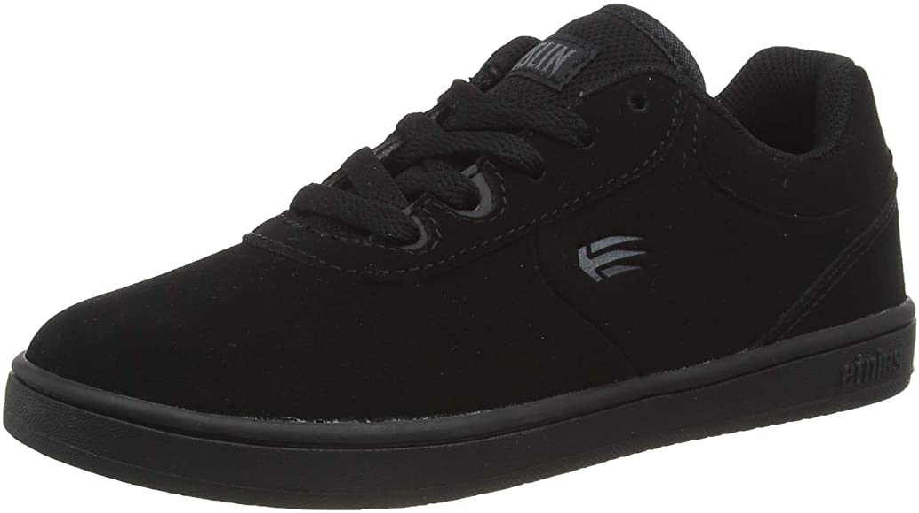 Etnies Kids Joslin Grey Black Youth Skateboard Shoes