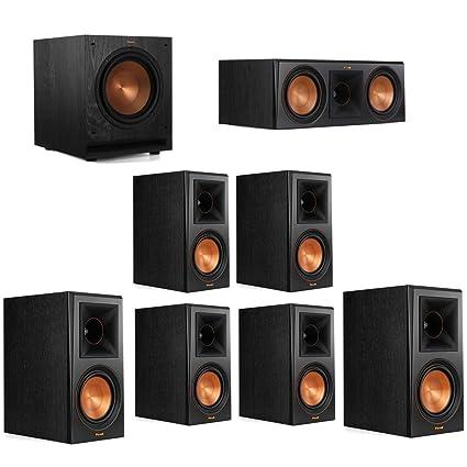 Klipsch 71 System With 2 RP 600M Bookshelf Speakers 1 600C