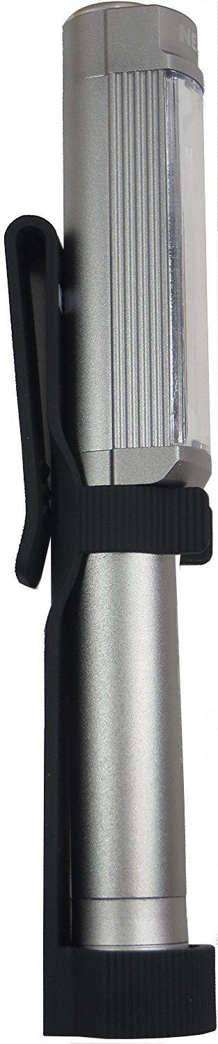 Big Larry Magnetic 400 Lumen LED Worklight With Holster By Nebo (Silver) Alliance Sports Group