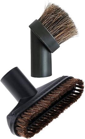 Magideal Juego 2 Piezas Cepillo para aspiradora cerdas suaves polvo Boquilla 32/35/25 mm 32mm: Amazon.es: Hogar