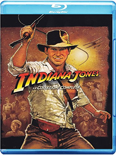 Indiana Jones – The Complete Adventures (Cofanetto 5 Blu-Ray) [audio español] [Italia] [Blu-ray]