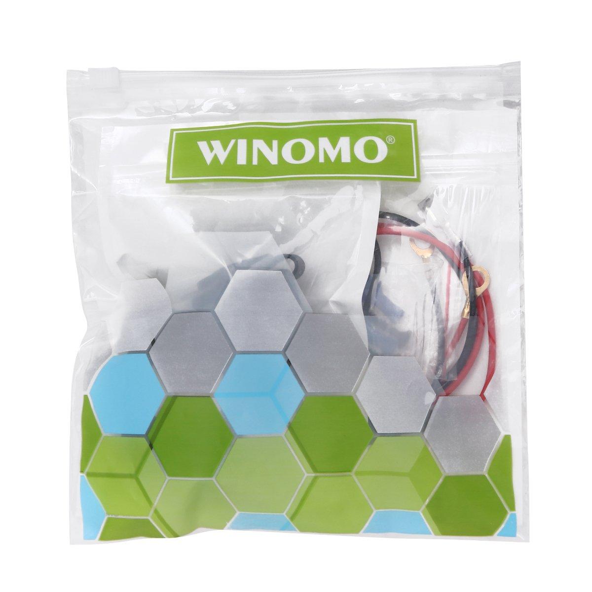 WINOMO Kit /étanche 12V-24V pour bateaux /à moteur