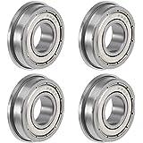 """1654ZZ Bearing 1 1//4/""""x2 1//2/""""x5//8/"""" inch Shielded Ball Bearings 8473"""