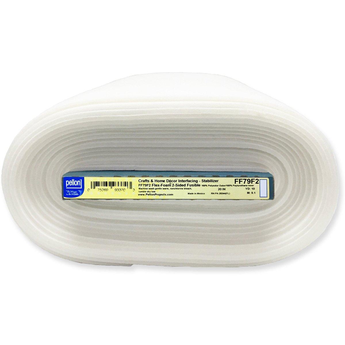 "Pellon FF79F2 Flex-Foam 2-Sided Fusible Foam Stabilizer - 20"" x 10 yd Board"
