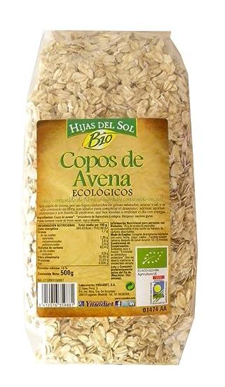 Hijas Del Sol Bio Copos Avena Bio - 500 gr - [Pack de 8]
