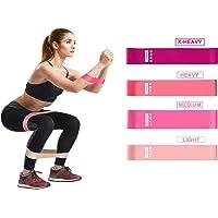 Jomore Fitnessbanden voor thuis, set weerstandsbanden weerstandsbanden krachttraining gymnastiekbanden set…