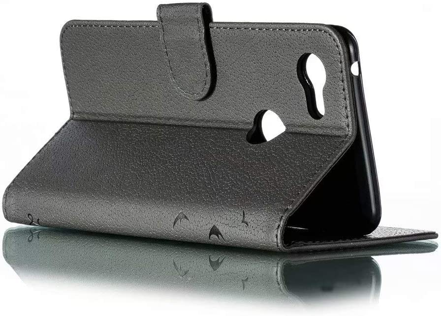 Flip Fold Kickstand Case with Card Holders FlipBird Luxury Flip Wallet Case for Google Pixel 3 XL Folding Stand Protective Book Case Cover for Google Pixel 3 XL
