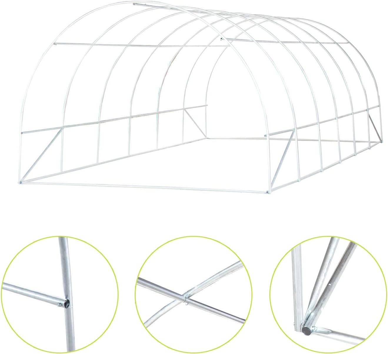 Patio, Lawn & Garden Greenhouses Green Hot House Portable for ...