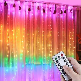 3M LED FILO DI LUCINE PER TENDA USB Da Appendere Muro Sfondo lampada con telecomando