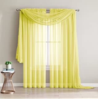 Amazon 84 Long Sheer Curtain Panel