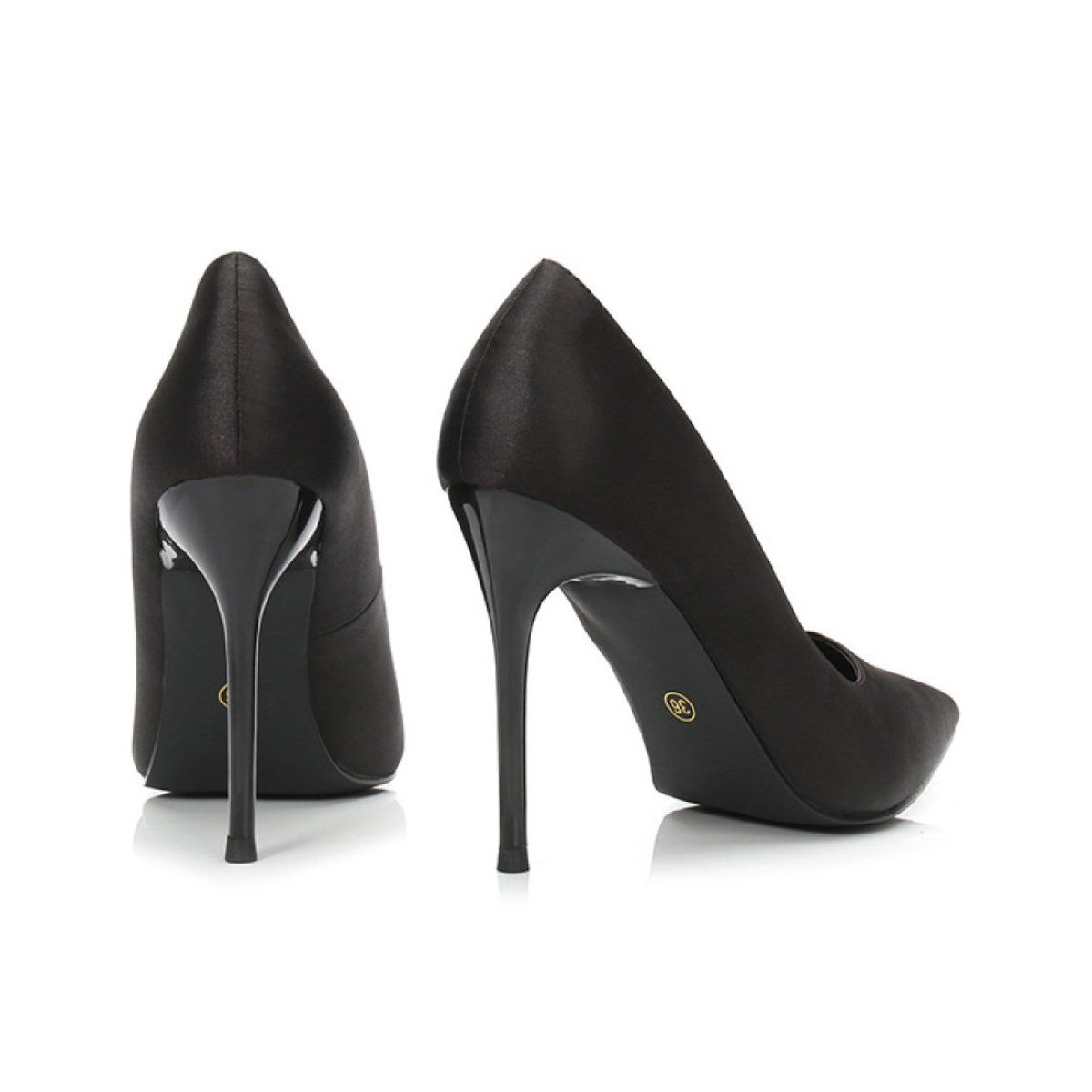 Frauen Beruf Arbeit Schuhe High Heels Sexy Pumps Damen Klassische Klassische Klassische BLack Spitz Schuhe cfb6e3