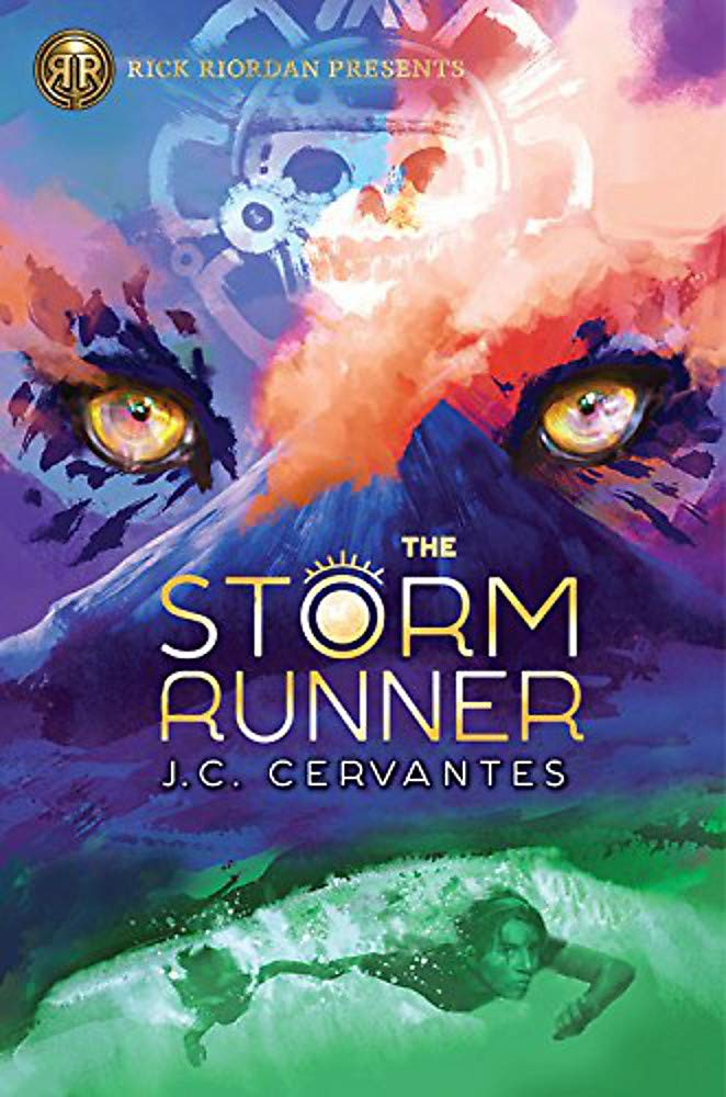 The Storm Runner (A Storm Runner Novel, Book 1): Cervantes, J.C.:  9781368016346: Books - Amazon.ca
