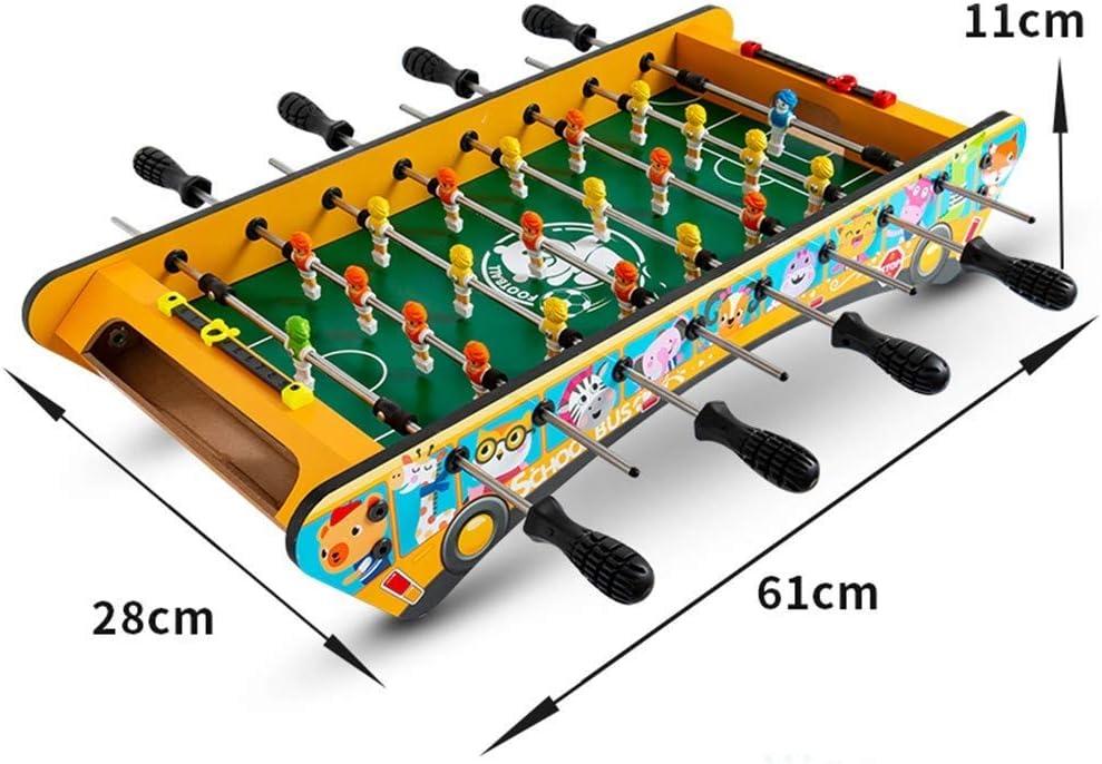 MGIZLJJ Futbolin Futbolín Tenis de Mesa Juego de Billar Combinado ...