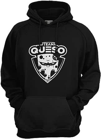 Team Queso Logo Vinilo Sudadera para Hombre