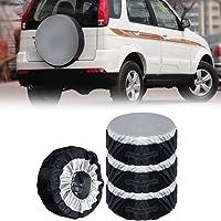 Tofree - 4 Fundas de Repuesto para neumáticos