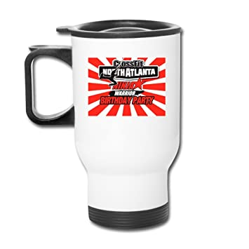 Blanco americano Ninja Warrior 2016 tazas de viaje de acero ...