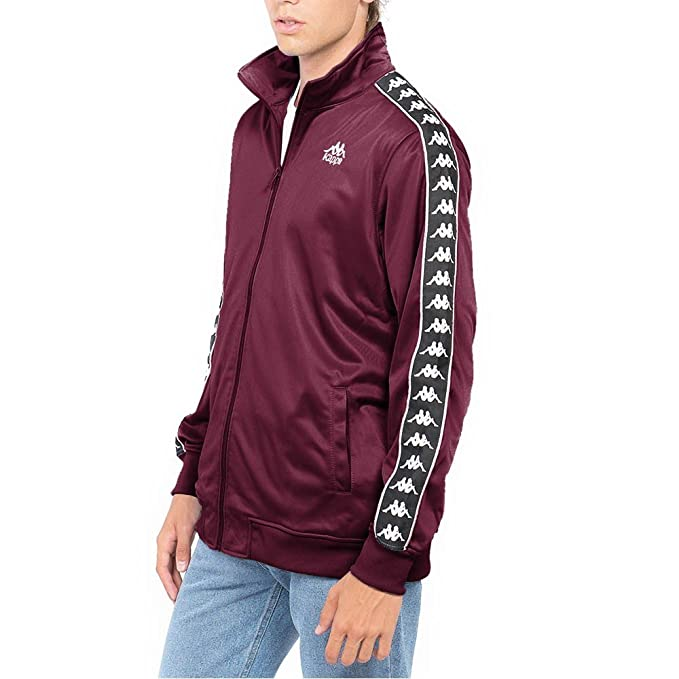 Kappa Accrington Track Top Jacket Red Dark Amaranto - L: Amazon.es: Ropa y accesorios