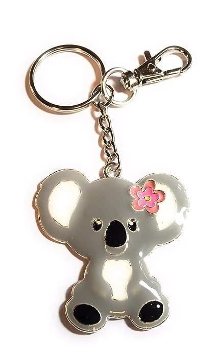 FizzyButton Gifts Esmalte Encanto del Bolso Koala Llavero ...