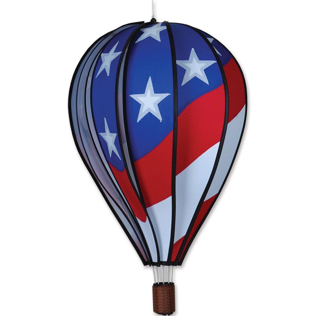 Amazoncom Hot Air Balloon 22 In Patriotic Patio Lawn Garden