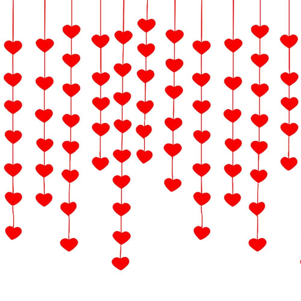 guirnaldas con corazones