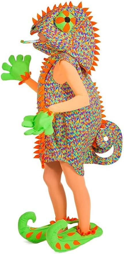 Disfraz de camaleón, reptil, para adultos - Gracioso disfraz para ...