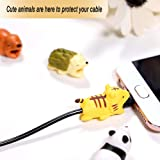 lotus.flower Animals Cable BITE All Cable Cord Cute Anmials Phone Accessory Protects Cable Accessory,Set of 4/6/8/9/10/12/16