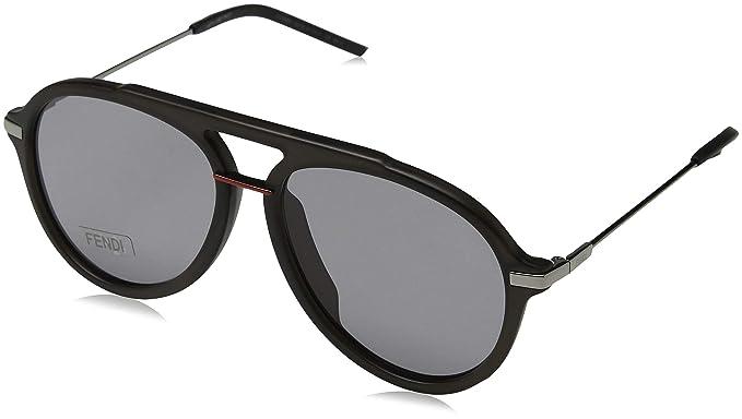 cafc05a8e16b Fendi Men s FF M0011 S IR KB7 58 Sunglasses Grey  Amazon.co.uk  Clothing