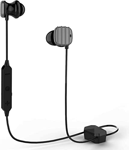 Bluetooth Headphones,COWIN HE8D Active Noise Cancelling Headphones Wireless Sports Earphones,HiFi Bass Stereo Sweatproof Earbuds for Workout,Gym,Runing,15 Hours Play Time