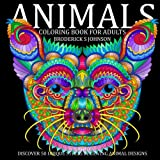 Animal: Discover 50 Unique Stress Relieving Animal Designs (Adult Coloring Books - Art Therapy for The Mind Book) (Volume 3)