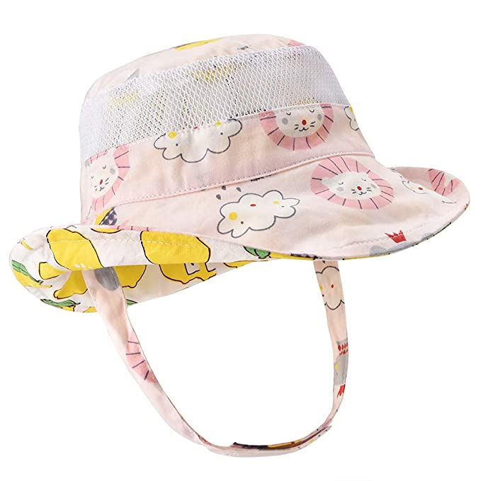 6f0724e5011 Baby Toddler Safari Sun Protection Hat 50 UPF - Double-Sided Available Kids  Breathable Bucket